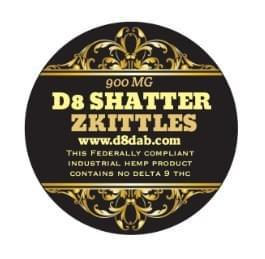 Delta-8 Shatter - Zkittles