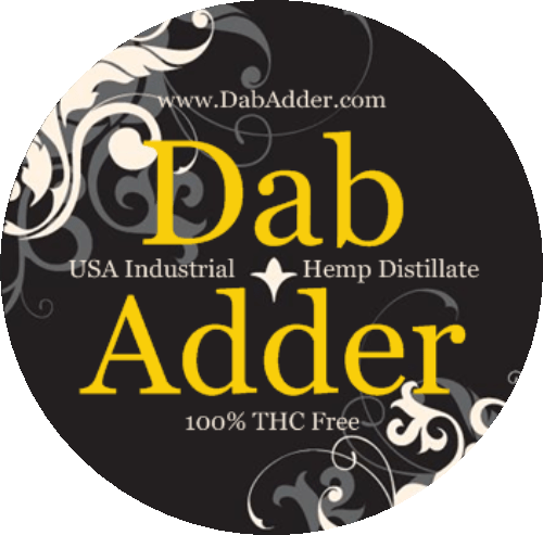 Dab Adder - USA GROWN Industrial Hemp Distillate CRUMBLE