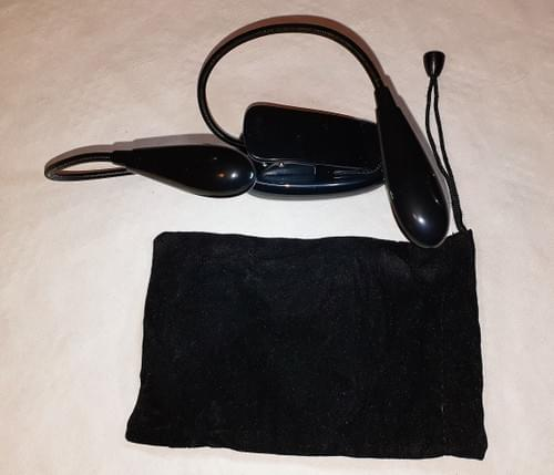 Pédalier Bluetooth + éclaireuse bi-lampe
