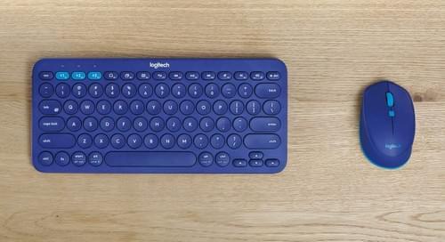 Ensemble clavier souris Bluetooth