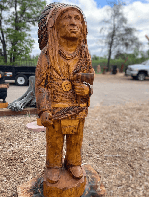 5.5' Tall Cigar Store Indian