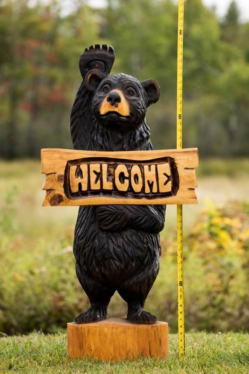 Welcome Bear! 4 Feet Tall