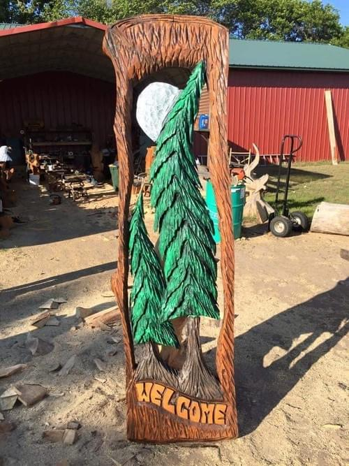 4.5' Welcome Tree Slab