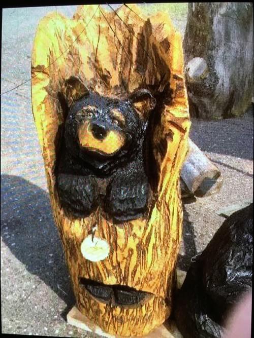 3' Stump Bear