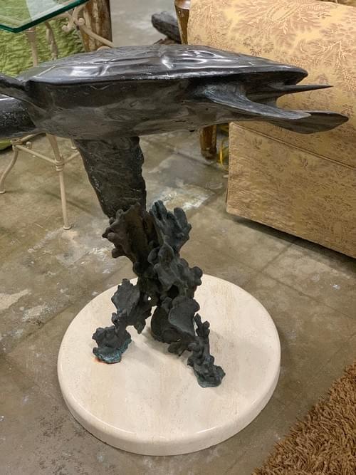 Dale Evers Bronze Sea Turtle Sculpture