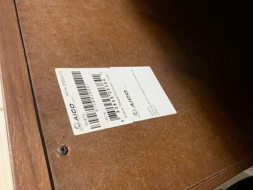 Modern Design Exiterra Dresser, Chest of Drawers with Mirror
