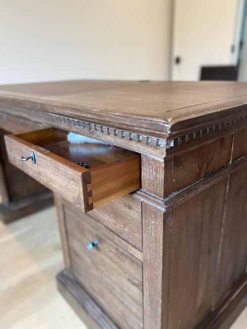 """Restoration Hardware St James 55"""" Office Desk"""