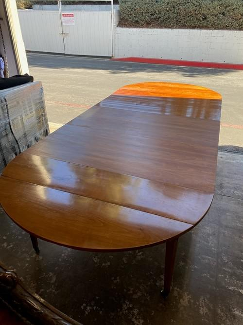 Antique Leaf Dining Table with Extensions