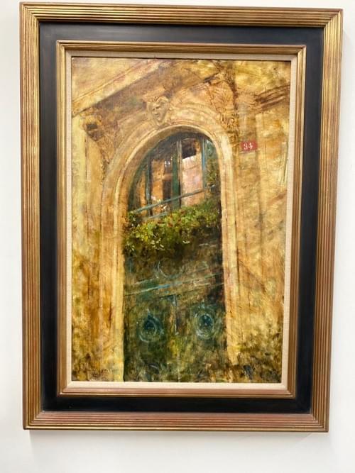 Original Oil on Canvas •Rue 34 Artist James Biggers
