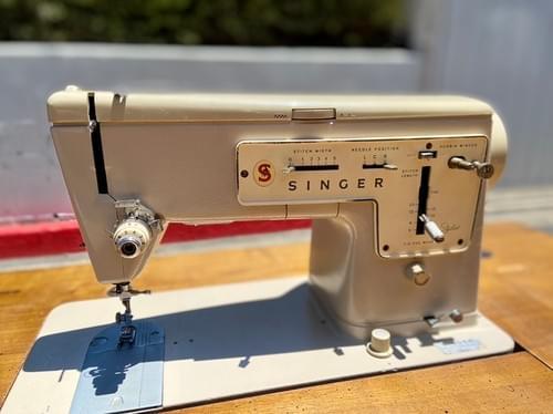 Antique Vintage Singer Sewing Machine Table