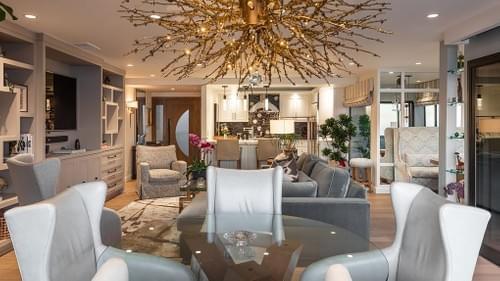 8' x 10' Great Room Area Rug- Marc Phillips Showroom - Designed by Jamie Bush