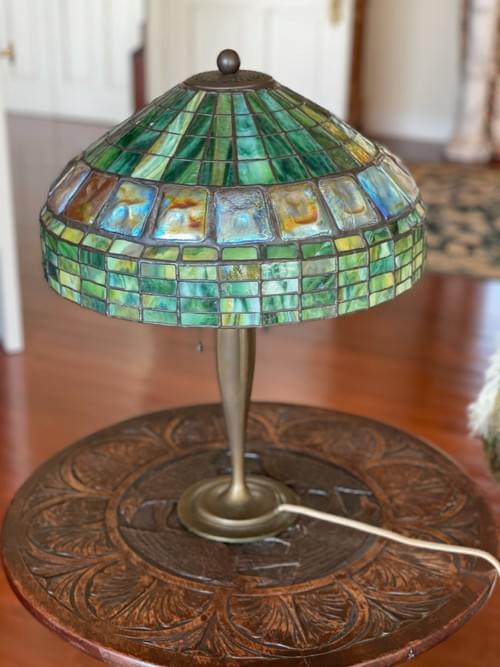 Tiffany Studios Lamp #615