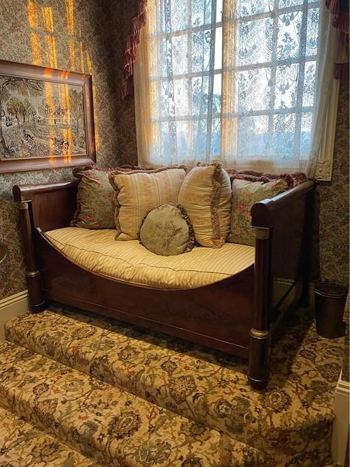 Napoleon Period Antique Daybed