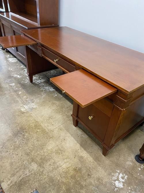 Classic High End Designer Wood Desk