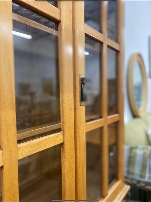Vintage Parque Wood Cabinet / Hutch