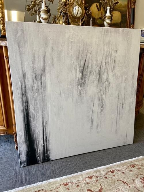 Restoration Hardware Canvas Painting: MICHÁLLE SESSIONS: AME FOR GENERAL PUBLIC