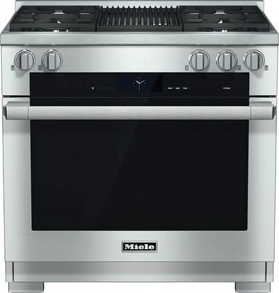 Miele M Touch 6-inch Freestanding Dual-Fuel Range Gas