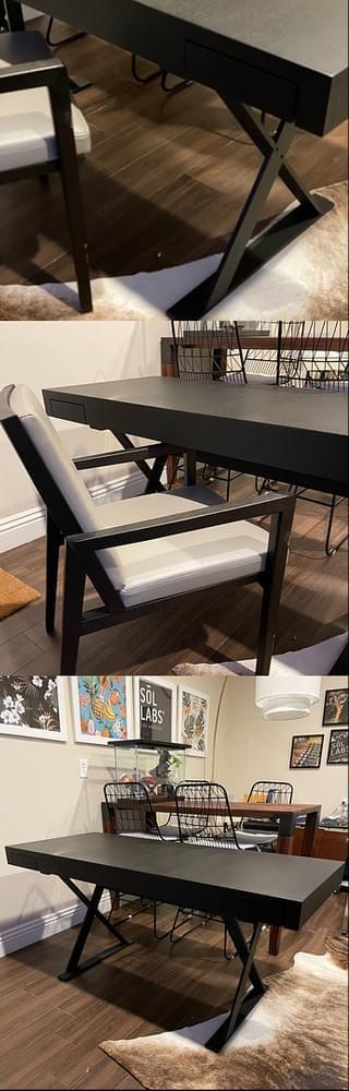 High-end Designer Camerich King Desk Office