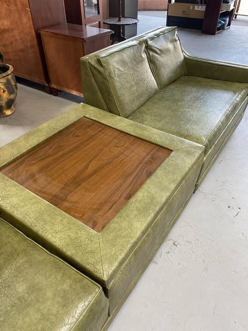 Vintage MCM Mid-Century modern Sofa Sleeper
