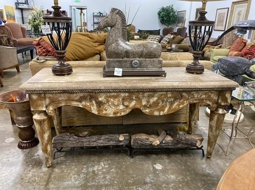 Large Concrete Entryway, Console, Buffet Indoor/Outdoor Table