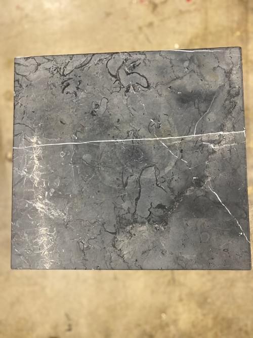 Leo Parrella Design Group Black Marble Side Table