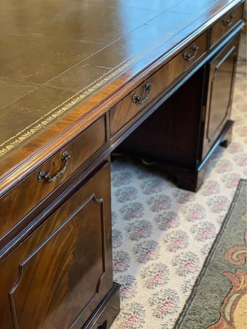 18th Century Large English Partners Desk