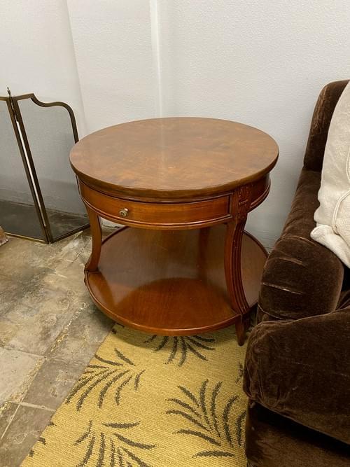 High End Custom End Side Table