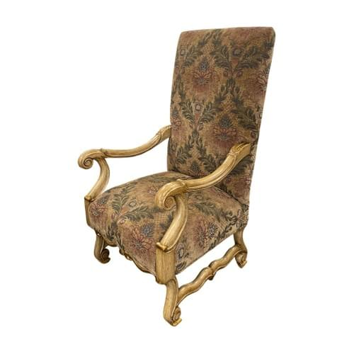High Back Wingback Arm Chair