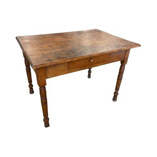 Vintage Desk Table with Small Drawer