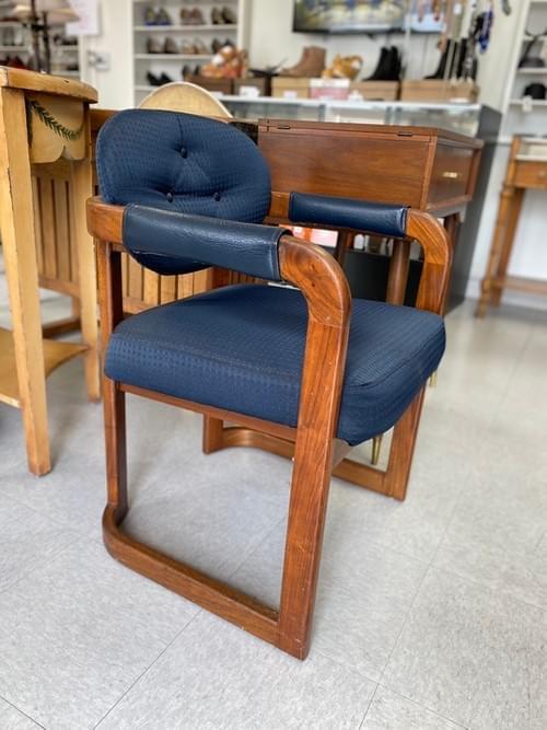 Vintage MCM Mid Century Modern Side Arm Chair