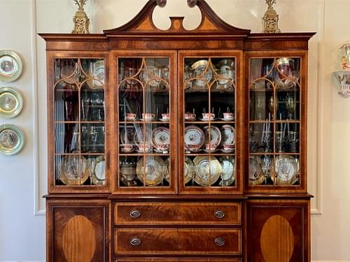 Antique English Sideboard Dining Buffet
