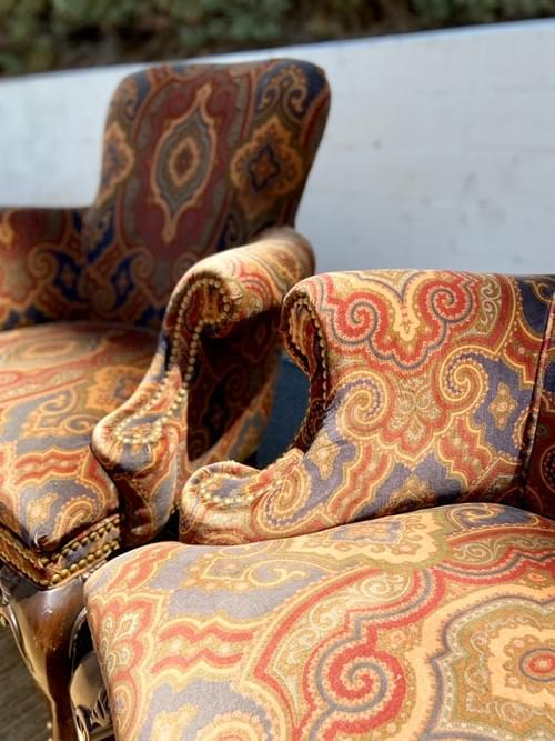 Hancock & Moore Fine Furniture Arm Chairs (Pair)
