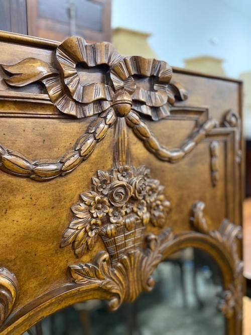 Tuscan Style Large Mirror