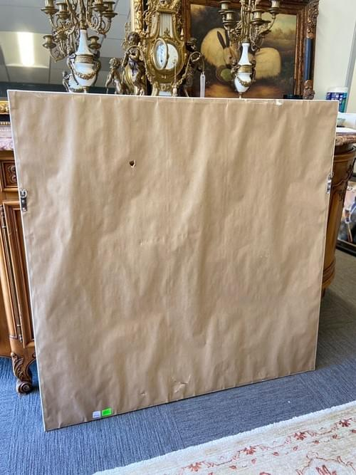 Restoration Hardware Flip Side Canvas Painting - Artist: Jennifer Janesko