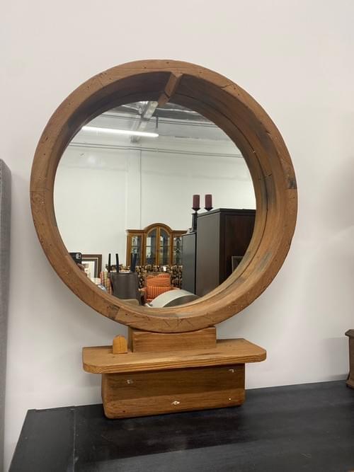 Vintage Custom Driftwood Mirror