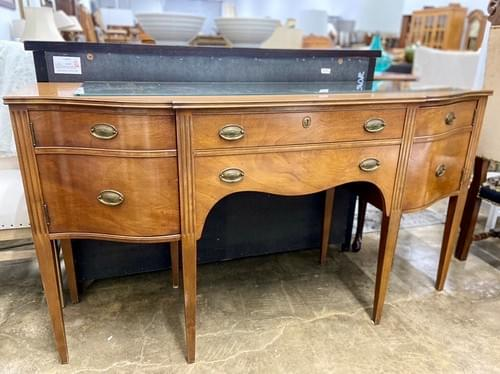 Irwin Furniture Company Antique Federal Sideboard Buffet
