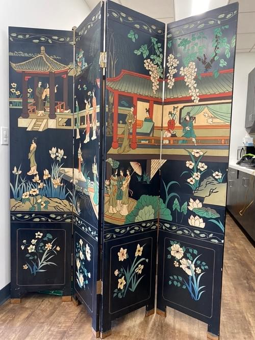 Oriental Partition Screen