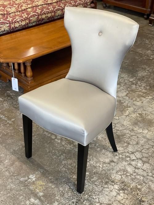 Uttermost Satin Armless Chair