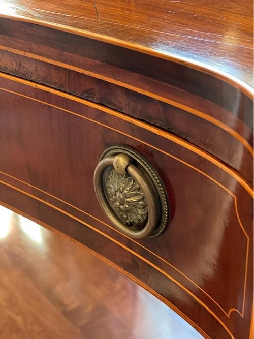 18th Century English Mahogany Sheraton Sideboard, Dining Buffet