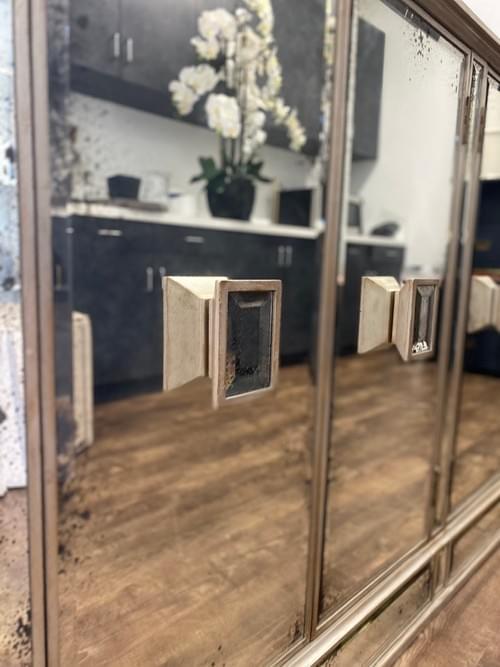 Mirrored Console Buffet