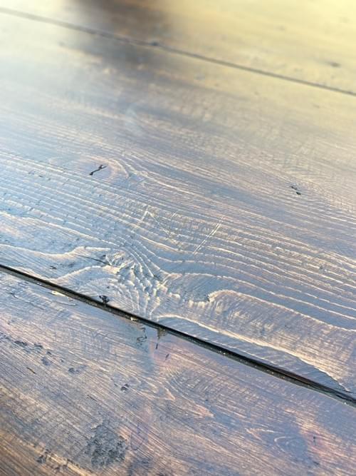 Restoration Hardware Salvaged Wood Trestle Rectangular Extension Dining Table