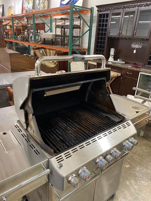 Weber Summit S-470 4 Burner Propane Grill Stainless Steel w/Cover