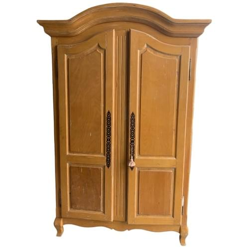 Large Maple Armoire