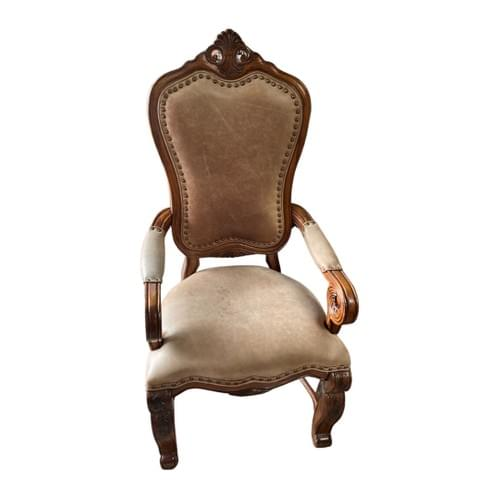 Wingback Arm Chair with Nail-heads