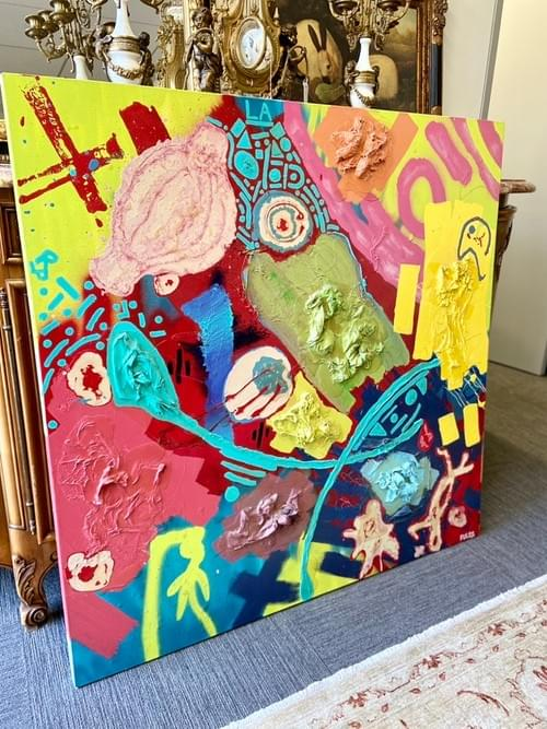 Abstract Three Dimensional Painting - Artist: PULSE