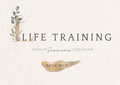 Δίμηνη Συμμετοχή, στα Life Training Sessions - 8 Online Συναντήσεις