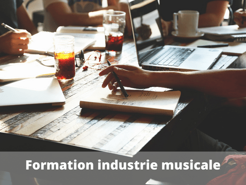 Formation dynamique : industrie musicale