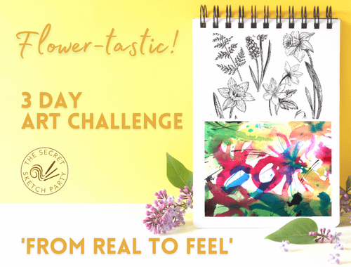 'From Real to Feel' Flower Art Challenge