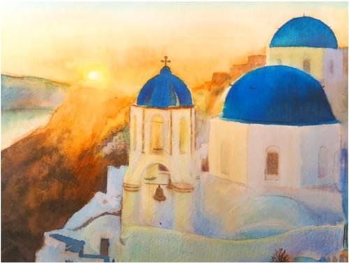 Santorini Sunset (Full Guidebook)