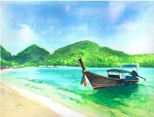 Tropical Beach Boat (Full Guidebook)